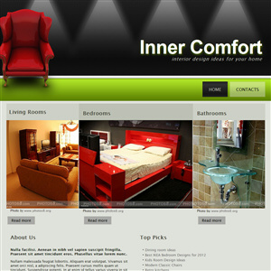 website designs samples