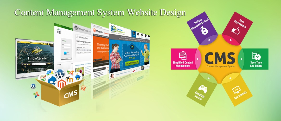 San Antonio Content Management System Website Design, Web CMS - WordPress, Joomla, Drupal